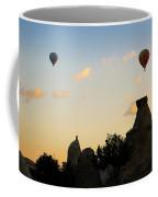 Fairy Chimneys And Balloons Coffee Mug
