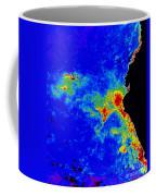 Fal-col Satellite Image Of Coastal Coffee Mug
