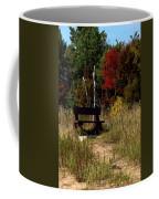 Fall Bench Dreams Coffee Mug