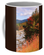Fall Color In The White Mountains Coffee Mug