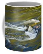 Fall Colors In River Rapids Coffee Mug