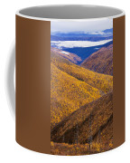 Fall Colours Along Top Of The World Coffee Mug