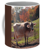 Fall Cow Coffee Mug