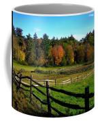 Fall Field - Greeting Card Coffee Mug