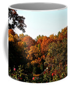 Fall Foliage And Roses Coffee Mug