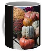 Fall Harvest Colorful Gourds 7968 Coffee Mug