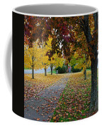 Fall Park Coffee Mug