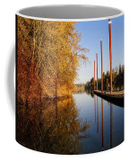 Fall Pier Coffee Mug