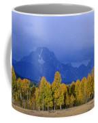 Fall Storm Over The Tetons Coffee Mug