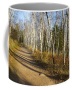 Fall Trail Scene 35 A Coffee Mug