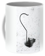Fallen Lamplight In Snow Coffee Mug