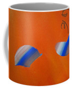 Falling Blue Coffee Mug