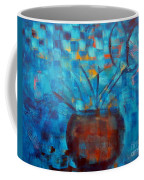 Falling Into Blue Coffee Mug