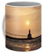 Falling On The Lighthouse Coffee Mug