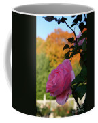 Fall's Final Rose Coffee Mug