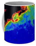 False Col Satellite Image Coffee Mug by Dr. Gene Feldman, NASA Goddard Space Flight Center