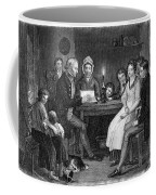 Family Reading, 1840 Coffee Mug