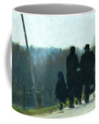 Family Time Coffee Mug by Debbi Granruth