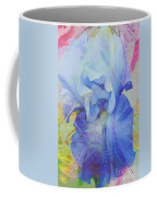 Fanciful Flowers - Iris Coffee Mug