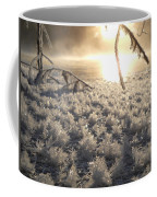 Fanciful Frosty Fractal Forest Coffee Mug