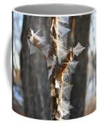 Fancy Fractal Frost Crystals Coffee Mug