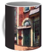 Fancy Green Door Burlington Nj Coffee Mug