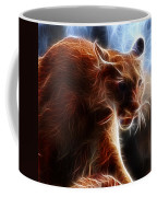 Fantasy Cougar Coffee Mug by Paul Ward