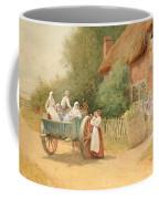 Farewell Coffee Mug by Arthur Claude Strachan