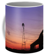 Farm At Sunset Coffee Mug