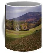 Farm By Ascutney Mountain Vermont Coffee Mug