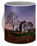 Farm House At Night Coffee Mug