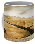 Farm On Hill - Tuscany Coffee Mug