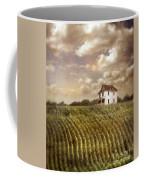 Farmhouse And Cornfield Coffee Mug