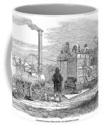 Farming: Threshing, 1851 Coffee Mug
