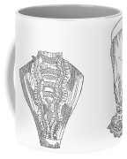 Fashion: Chemisette, 1854 Coffee Mug