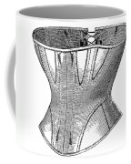 Fashion: Corset, 1869 Coffee Mug