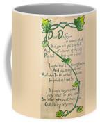 Fathers Day Card, 1912 Coffee Mug