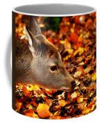 Fawn In Autumn Coffee Mug