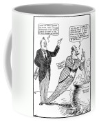 F.d. Roosevelt Cartoon Coffee Mug