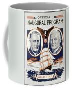 Fdr: Inauguration, 1933 Coffee Mug