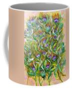 Feather Luster Coffee Mug