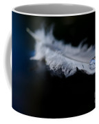 Feather With A Water Drop Coffee Mug