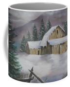 February Snowstorm Coffee Mug