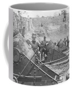 Federal Siege Guns Yorktown Virginia During The American Civil War Coffee Mug