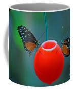 Feeding Butterflies Coffee Mug