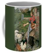 Feeding The Chickens Coffee Mug