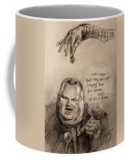 Feeding The Talking Heads Like Rush Limbaugh And Co Coffee Mug