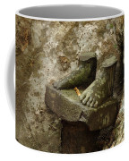 Cambodia Carved Feet Coffee Mug