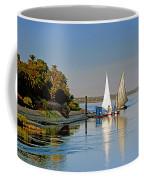 Feluccas On The Nile Coffee Mug