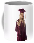 Female Graduate II Coffee Mug